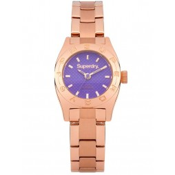 Superdry Ladies Mini Steel Watch SYL158VRGM