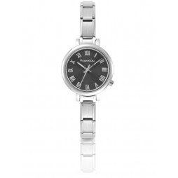 Nomination CLASSIC Paris Gunmetal Sunray Dial Bracelet Watch 076010/018