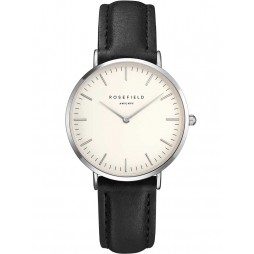 ROSEFIELD Ladies Black Tribeca Watch TWBLS-T54