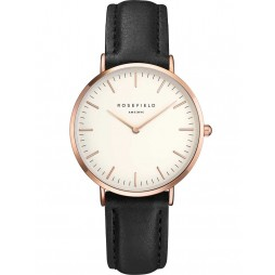 ROSEFIELD Ladies Black Tribeca Watch TWBLR-T53