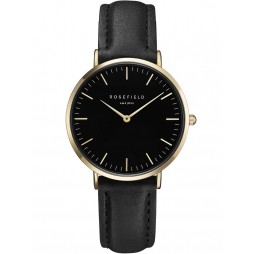 ROSEFIELD Ladies Black Tribeca Watch TBBG-T56