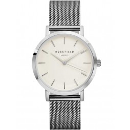 ROSEFIELD Ladies Silver Plated Mercer Watch MWS-M40