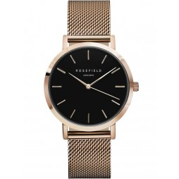 ROSEFIELD Ladies Black Mercer Watch MBR-M45
