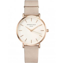 ROSEFIELD Ladies Rose Gold West Village Watch WSPR-W73