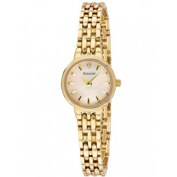 Accurist Ladies Gold Plated Bracelet Watch LB1405P