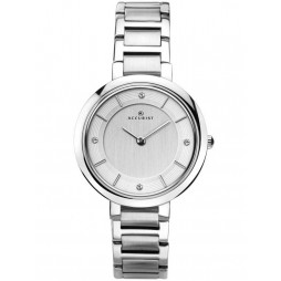 Accurist Ladies Silver London Watch 8150