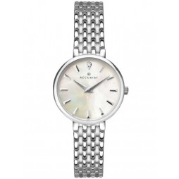 Accurist Ladies Silver London Watch 8153