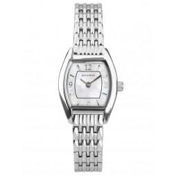 Accurist Ladies Classic Mother Of Pearl Dial Tonneau Bracelet Watch 8325
