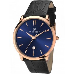 Accurist Mens Navy Dial Watch 7061