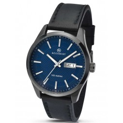 Accurist Mens Strap Watch 7136