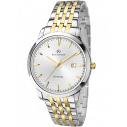 Accurist London Mens Two Tone Watch 7018