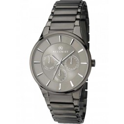 Accurist Mens Multi Dial Bracelet Watch 7038