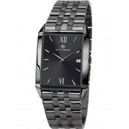 Accurist Mens Grey Bracelet Watch 7063