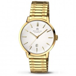 Accurist Mens Gold Watch 7098