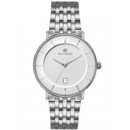 Accurist Mens Silver London Watch 7173