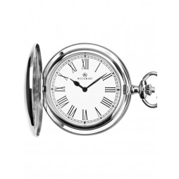 Accurist Round Full Hunter Pocket Watch 7280