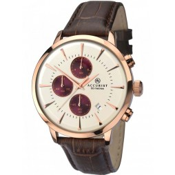 Accurist Mens Chronograph Watch 7034