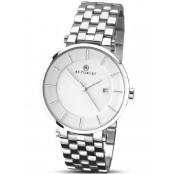 Accurist Mens Stainless Steel Watch 7091