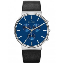 Skagen Mens Chronograph Strap Watch SKW6105