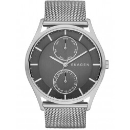 Skagen Mens Holst Mesh Bracelet Watch SKW6172