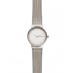 Skagen Freja Two Colour Mesh Bracelet Watch SKW2699