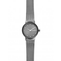 Skagen Freja Grey Mesh Bracelet Watch SKW2700