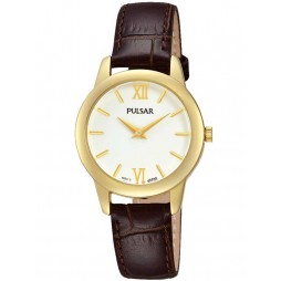 Pulsar Ladies Gold Plated Watch PRW020X1