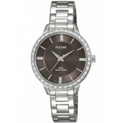Pulsar Ladies Stone Set Bracelet Watch PH8215X1