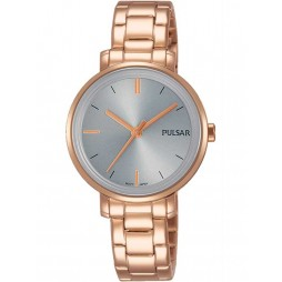 Pulsar Ladies Rose Gold Plated Attitude Watch PH8362X1