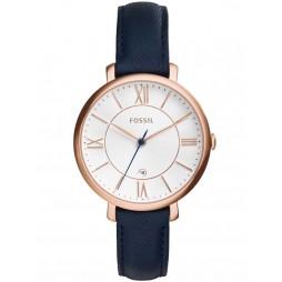 Fossil Ladies Jacqueline Rose Gold Watch ES3843