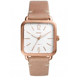 Fossil Ladies Micah Rose Gold Plated Strap Watch ES4254