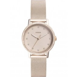 Fossil Ladies Neely Mesh Bracelet Watch ES4364