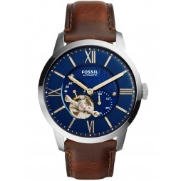Fossil Mens Townsman Automatic Strap Watch ME3110