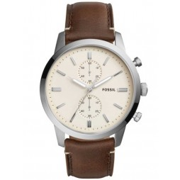 Fossil Mens Townsman Steel Strap Watch FS5350