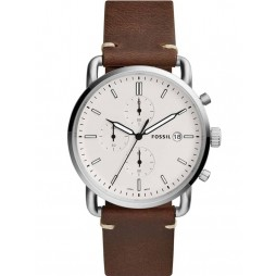 Fossil Mens Commuter Strap Watch FS5402