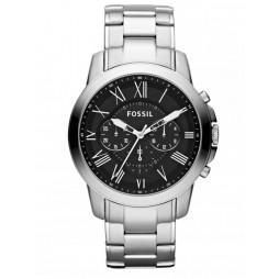 Fossil Grant Chronograph Black Bracelet Watch FS4736IE