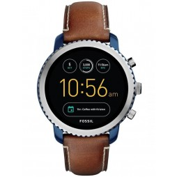 Fossil Gen 3 Q Explorist Luggage Leather Strap Watch FTW4004