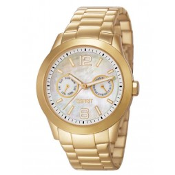 Esprit Ladies Gold Plated Bracelet Watch ES105492005