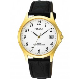 Pulsar Mens Strap Watch PXH566X1