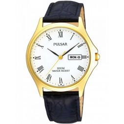 Pulsar Mens Strap Watch PXD292X1