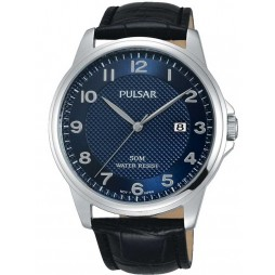 Pulsar Mens Dress Strap Watch PS9443X1