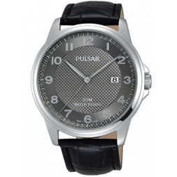 Pulsar Mens Dress Strap Watch PS9447X1
