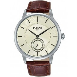 Pulsar Mens Dress Strap Watch PN4043X1