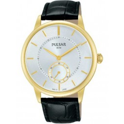 Pulsar Mens Dress Strap Watch PN4042X1