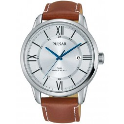 Pulsar Mens Classic Strap Watch PS9469X1
