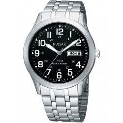 Pulsar Mens Bracelet Watch PXN181X1