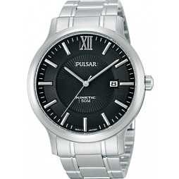 Pulsar Mens Kinetic Bracelet Watch PAR185X1