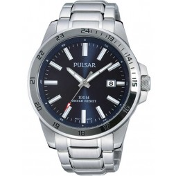 Pulsar Mens Blue Sports Watch PS9331X1