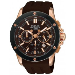 Pulsar Mens Chronograph Strap Watch PT3126X1