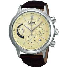 Pulsar Mens Chronograph Strap Watch PU6007X1